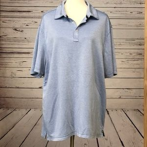 Nat Nast Luxury Originals XL Polo Shirt Blue S/S